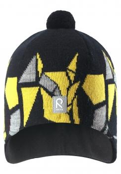 Reima müts KAJA 528548, 9990 Must