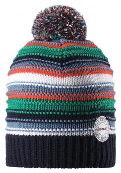 Reima müts HURMOS 528553, 698A tumesinine/triip