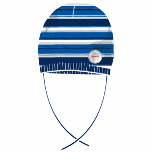 Reima müts NIEMI 528575, 6981 Tumesinine/triib.