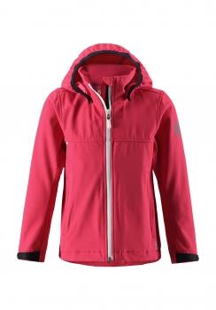 ReimaGO® tüdrukute softshell jakk HARBOUR 531262, 3360 Maasikapunane