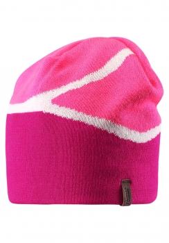 Reima müts SLALOM 538013, Tume roosa