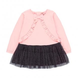 Boboli tüdrukute kleit 708252, Roosa/Must