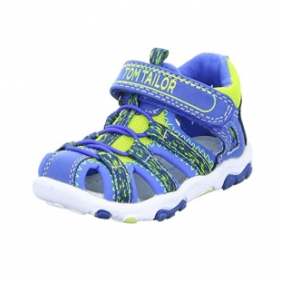 Tom Tailor sandaalid 6972801, sinine/kollane