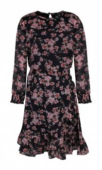 UUS KOLLEKTSIOON Kids-UP tüdrukute kleit 7503569, 0900 Must