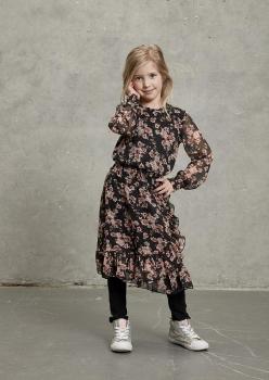 Kids-UP tüdrukute kleit 7503569, 0900 Must