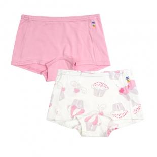 Joha tüdrukute bokserid bambus 88301, 2268 roosa