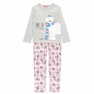 Boboli tüdrukute pidžaama 928010, Roosa/hall