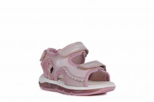 UUS KOLLEKTSIOON Geox`i tüdrukute sandaalid TODO, C8004 Roosa