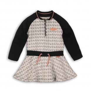 UUS KOLLEKTSIOON Koko Noko tüdrukute kleit 37B-32927, Valge/must