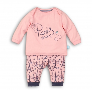 UUS KOLLEKTSIOON Charlie Choe tüdrukute pidžaama 41B-33012, Roosa