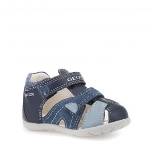 Geox`i väikelaste sandaalid KAYTAN, C0693 t.sin./h.sin.