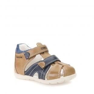 Geox`i väikelaste sandaalid KAYTAN, C5GF4 pruun/t.sin.