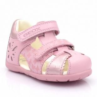Geox tüdrukute sandaalid B7251C, C8010 heleroosa