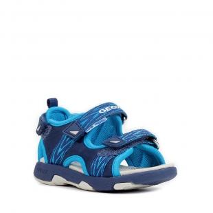 Geox´i väikelaste sandaalid MULTY, CF4N4 T.sinine/türkiis