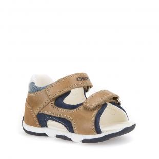 Geox`i väikelaste sandaalid TAPUZ, C5GF4 pruun/t.sin.