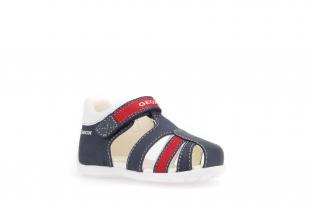 Geox´i väikelaste sandaalid ELTHAN, C0735 t.sinine/pun