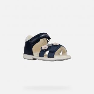 UUS KOLLEKTSIOON Geox`i tüdrukute sandaalid VERRED, C4002 tumesinine