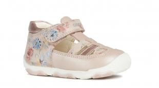 Geox`i tüdrukute sandaalid BALU, C8172 Heleroosa