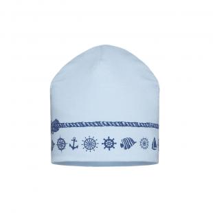 Barbaras poiste müts CU52/C, Helesinine