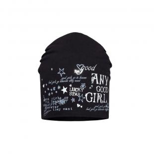 Barbaras tüdrukute müts CU97/C, Must