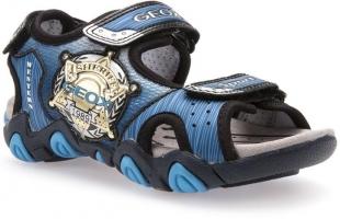 Geox´i poiste sandaalid STRIKE, Tumesinine/sinine