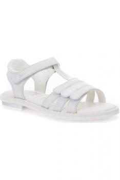 Geox´i tüdrukute sandaalid GIGLIO, C1000 Valge