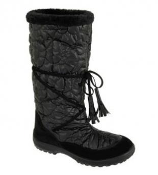 Kuoma talvesaapad Glamour, 9990 Must