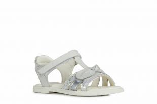 UUS KOLLEKTSIOON Geox`i tüdrukute sandaalid KARLY GIRL, C1000 Valge