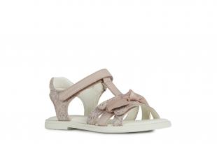 UUS KOLLEKTSIOON Geox`i tüdrukute sandaalid KARLY GIRL, C8172 Heleroosa