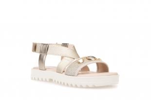 Geox´i tüdrukute sandaalid CORALIE, C2005 kuldne