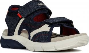 Geox`i poiste sandaalid FLEXYPER, C0735 t.sinine/pun