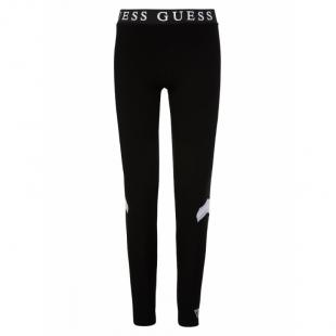 GUESS Kids tüdrukute retuusid-püksid, Must