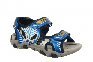 Geox´i poiste sandaalid Strike, C0693 t.sin./h.sin.