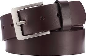 Playshoes nahast püksirihm 601520, 4 pruun