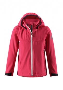 ReimaGO® tüdrukute softshell jakk HARBOUR 531262, 3360 Maasika punane
