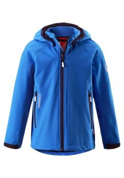 ReimaGO®  poiste softshell jakk HATCH 531263, 6530 Sinine