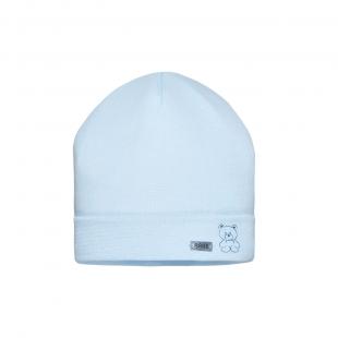 Barbaras beebipoisi müts TU41/0, Helesinine