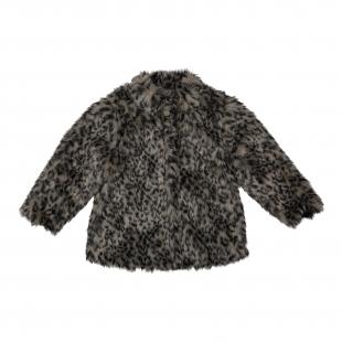 Koko Noko tüdrukute karvane jakk 29927, Hallikirju