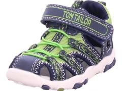 Tom Tailor sandaalid 8072802, sinine/kollane