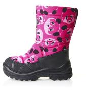 Kuoma talvesaapad villaga Putkivarsi Pinkki Panda 1-303-37, Roosa