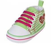 Playshoes beebitüdruku ketsid Süda 121541, 29 roheline