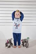 Gary väikelaste pidžaama 130015, Sinine