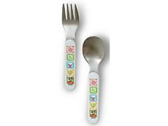 Winnie the Pooh kahvel ja lusikas 15255WP, Värviline