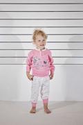 Gary tüdrukute pidžaama 160030, Roosa korall