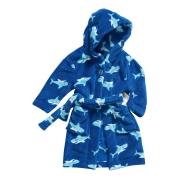 Playshoes fliisist hommikumantel Hai 340145, 7 sinine
