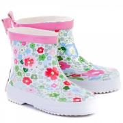 UUS! Playshoes väikelaste kummikud Lilled 180364, 1 valge
