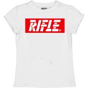 Rifle tüdrukute T-särk 84985-11A, 11A Valge