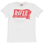 Rifle poiste T-särk 84986-11A, 11A Valge