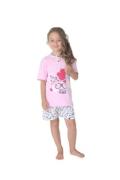 Gary tüdrukute pidžaama 245097, Heleroosa