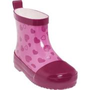 UUS! Playshoes kummikud Südamed 180331, 18 roosa